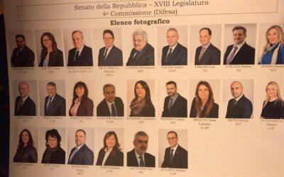 Costituzione delle Commissioni 4a Difesa e 14a Politiche dell'Unione Europea