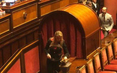Primo giorno della nuova Legislatura