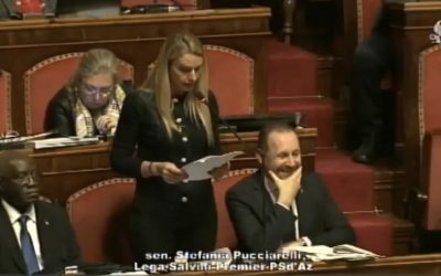 Intervento in Aula sul Decreto Genova