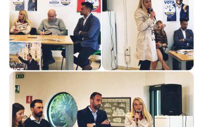 Presentazione candidati Lega a Vezzano