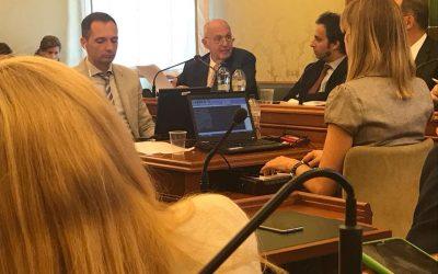 Audizione del Ministro Paolo Savona in 14a Commissione Politiche dell'Unione Europea
