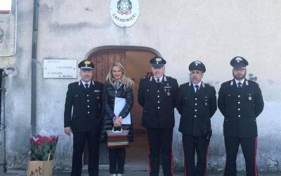 Visita alla Stazione dei Carabinieri di Santo Stefano di Magra