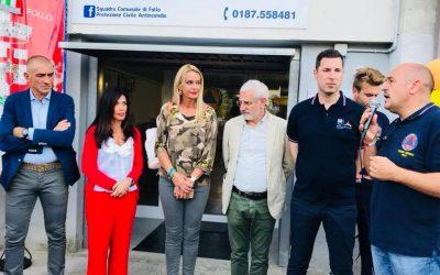Inaugurazione sede Protezione Civile di Follo intitolata a Bruno Barabini