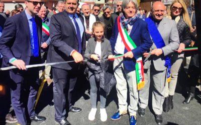 Inaugurato il ponte sul torrente Pogliaschina a Borghetto Vara