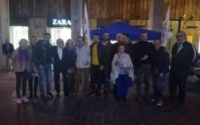 Gazebo a Vezzano Ligure e La Spezia