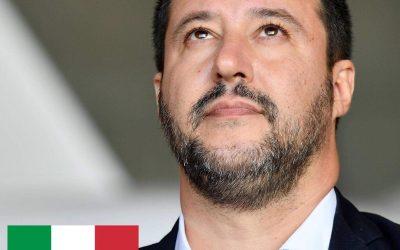 Gli italiani stanno con Matteo Salvini