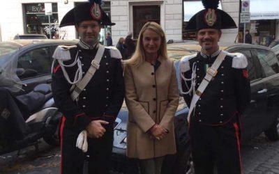 Virgo Fidelis patrona dell'Arma dei Carabinieri