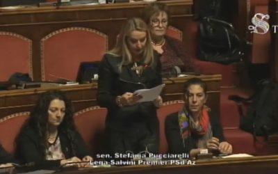 Intervento in Aula sulla Legge europea 2018