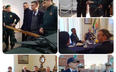 Incontri e visite a La Spezia con il Viceministro Edoardo Rixi
