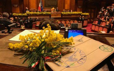Festa della Donna in Senato