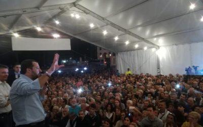 Zena Fest 2018 con Matteo Salvini