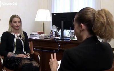 Intervista per RaiNews24