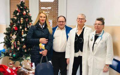 Visita al reparto pediatria dell'Ospedale Sant'Andrea di La Spezia