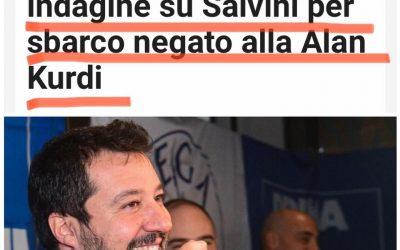 Archiviata indagine su Salvini per Alan Kurdi: legittimo difendere i confini