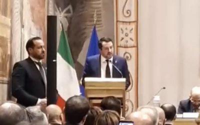 """Convegno """"Le nuove forme dell'antisemitismo"""" con Matteo Salvini"""