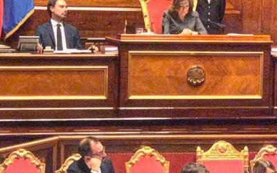 Il Ministro Bonafede in Senato