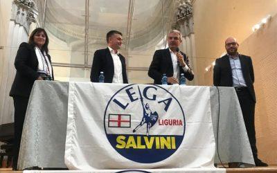 A Chiavari col Ministro Lorenzo Fontana per Campomenosi