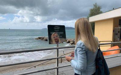 Intitolazione al poeta Sem Benelli della passeggiata sul mare di Lerici