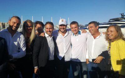 Con Matteo Salvini al Salone Nautico di Genova