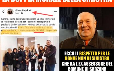 Offese sessiste di Nicola Caprioni