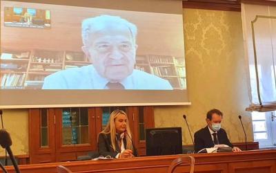 Romano Prodi in Commissione Diritti umani