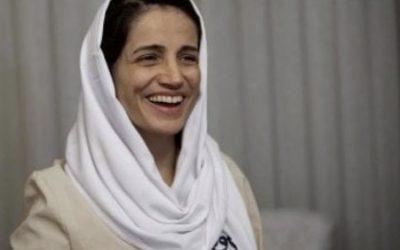 Nasrin Sotoudeh finalmente LIBERA!