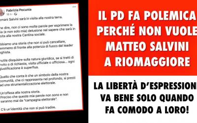 Il PD non vuole Salvini a Riomaggiore, democratici a giorni alterni!