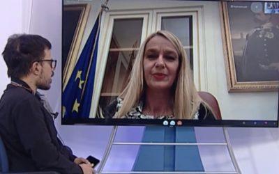 Intervista per Tele Liguria Sud
