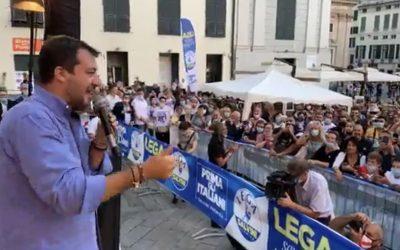 Con Matteo Salvini a Genova!