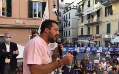 Con Matteo Salvini in Liguria, a La Spezia!