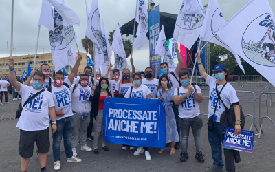 Lega Liguria a Catania per sostenere Matteo Salvini