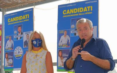 Chiusura di Campagna elettorale con Marco Campomenosi