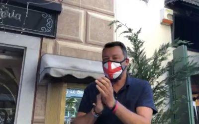 Con Matteo Salvini a Sarzana!