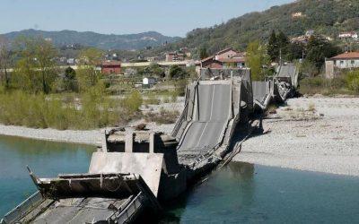 Ponte crollato ad Albiano Magra: ricostruiamo la vicenda