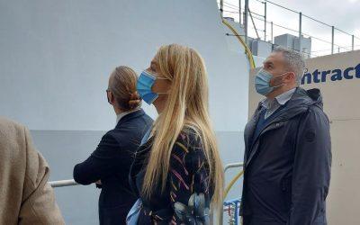 Visita ai cantieri navali Intermarine