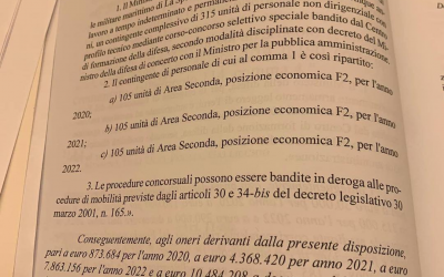 Emendamento a sostegno dell'Arsenale di La Spezia