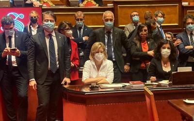 Decreto Clandestini: la Lega occupa l'Aula