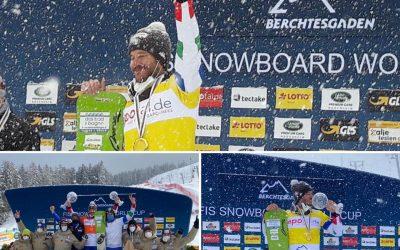 Aaron March campione del mondo di Snowboard