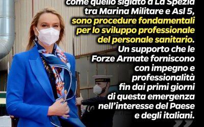 Accordo tra Marina Militare e Asl 5 di La Spezia