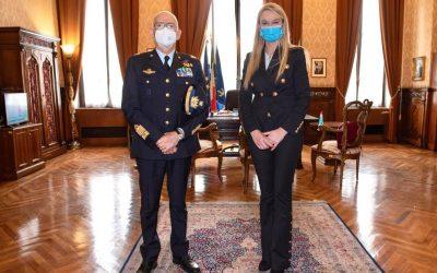Incontro con Capo di Stato Maggiore dell'Aeronautica, Gen Alberto Rosso