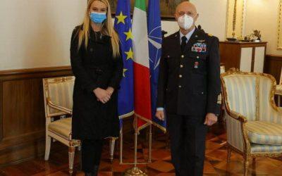 Incontro con il Capo di Stato Maggiore della Difesa, Gen Enzo Vecciarelli