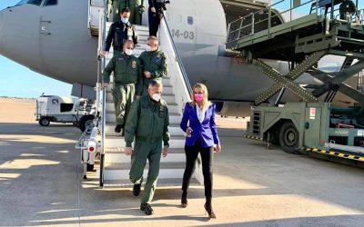 Visita all'Aeroporto Militare di Pratica di Mare