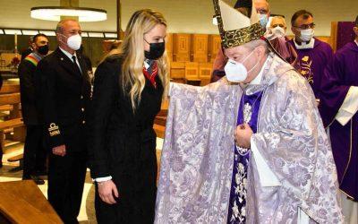 Messa di precetto pasquale officiata da Sua Eccellenza Reverendissima Santo Marcianò