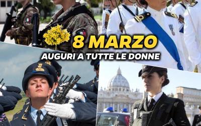 Buon 8 marzo alle donne della Difesa