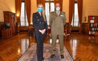 Incontro con Gen Nicolò Falsaperna, Segretario generale della Difesa e Direttore Nazionale degli Armamenti