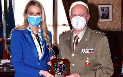 Incontro con Ispettore Nazionale Corpo Militare CRI, Gen Gabriele Lupini