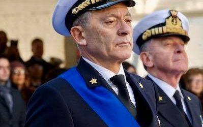 Auguri guarigione Comandante generale Capitanerie, Amm Giovanni Pettorino