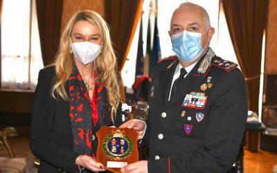 Incontro con Comandante generale dell'Arma dei Carabinieri, Gen Teo Luzi