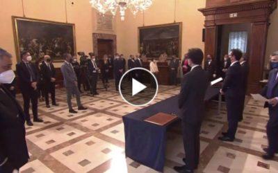 Giuramento dei Sottosegretari di Stato