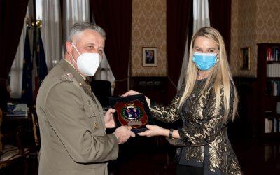 Incontro con il Capo di Stato Maggiore dell'Esercito, Gen Pietro Serino